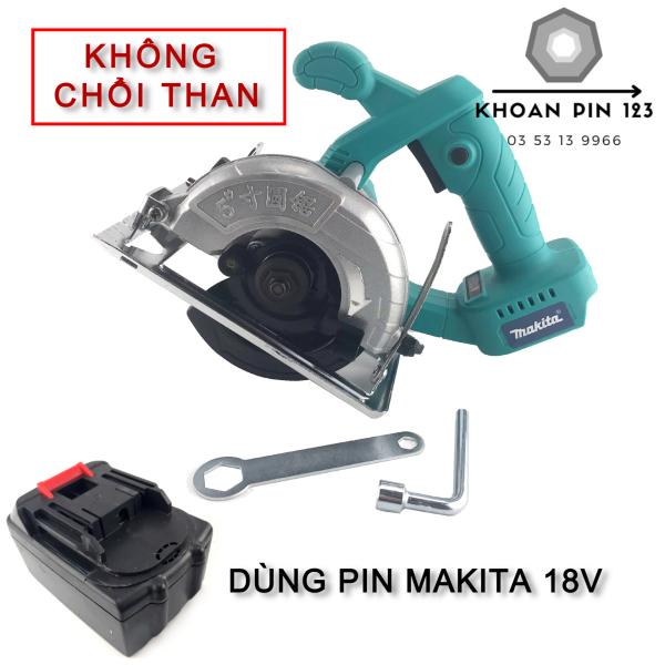 Máy cưa bàn không chổi than dùng pin Makita