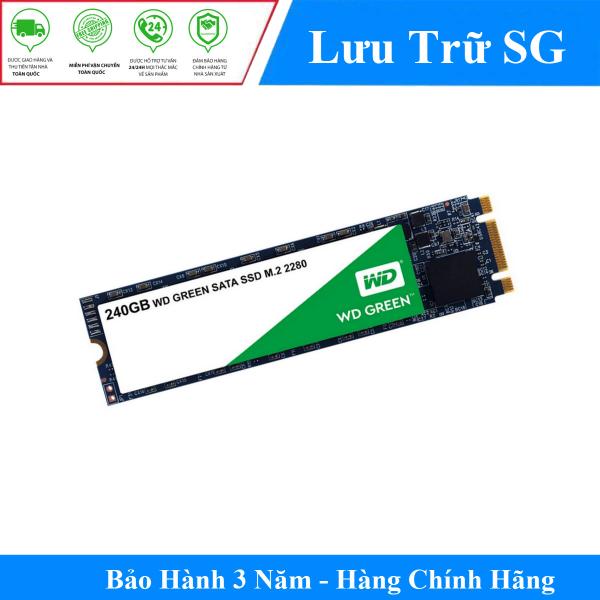 Bảng giá Ổ cứng Gắn Trong SSD Western Digital WD Green 240GB M.2 2280 SATA 3 - WDS240G2G0B - Hàng Phân Phối Chính Thức Phong Vũ