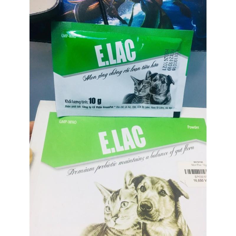 Men Tiêu Hóa Cho Chó Mèo ELAC 10g