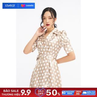 Đầm ngắn tay cổ bẻ ve dáng dài DDC0019 - 20Again thumbnail