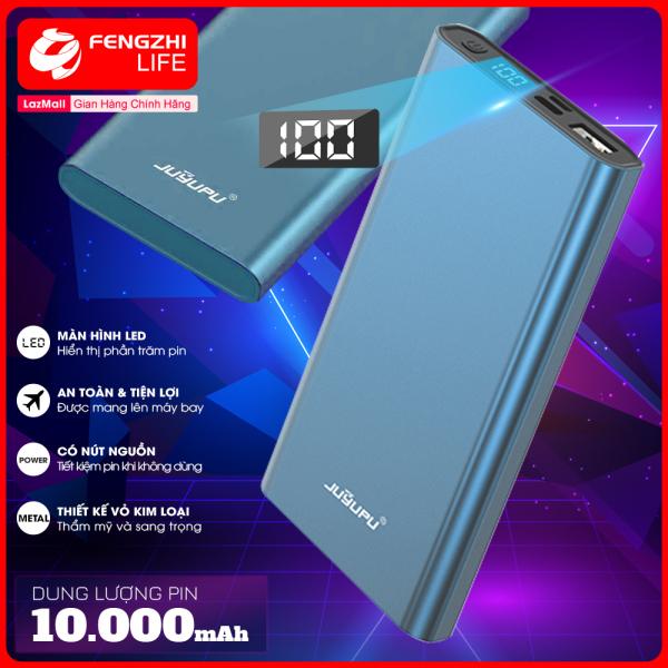 Sạc dự phòng, pin sạc dự phòng dung lượng pin 10000mAh, sạc dư phòng màn hình hiển thị phần trăm pin, cổng USB 2A, ĐẢM BẢO HÀNG CHÍNH HÃNG, Bảo Hành 12 Tháng PR-5C