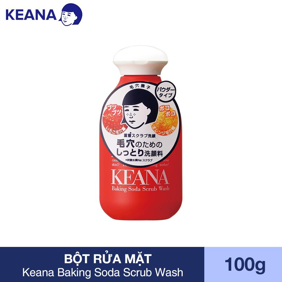 Bột Rửa Mặt Keana Baking Soda Scrub Wash (100g)