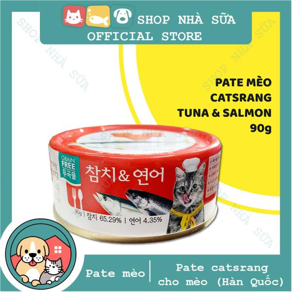 Thịt hộp - Pate Catsrang cho mèo nhập khẩu Hàn Quốc