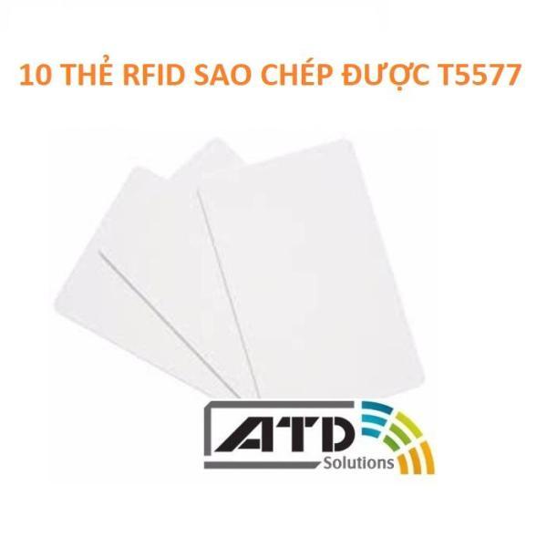 10 cái thẻ từ RFID sao chép được T5577, Thẻ RFID T5577, Thẻ RFID 125Khz sao chép được