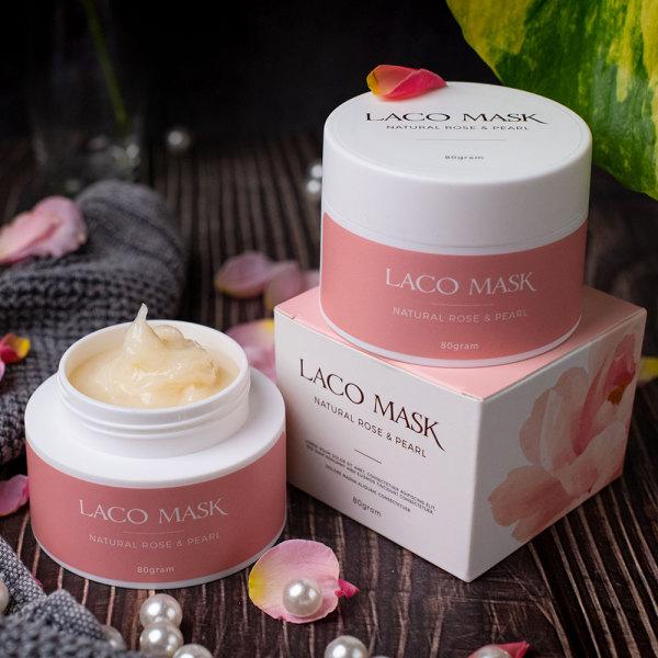 Mặt nạ dưỡng da LACO MASK giúp nuôi dưỡng làn da trắng hồng mịn màng