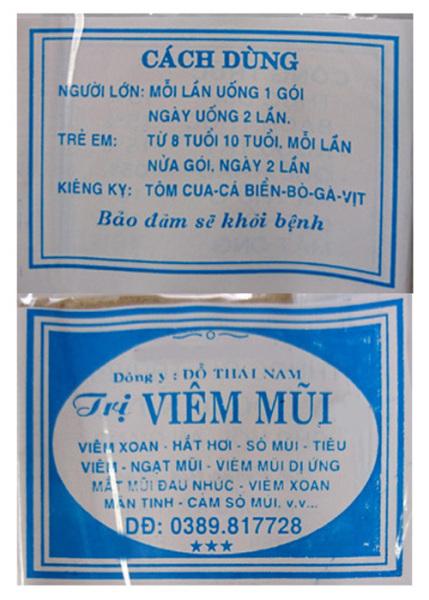 30 Gói Viêm mũi Đỗ Thái Nam (dạng viên) Chính gốc cao cấp