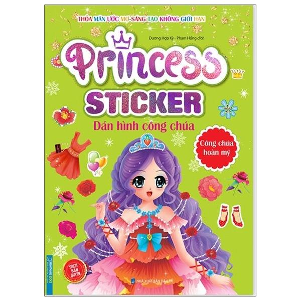Fahasa - Princess Sticker - Dán Hình Công Chúa - Công Chúa Hoàn Mỹ