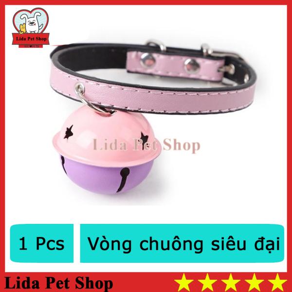 HN- Vòng cổ chó mèo có chuông siêu đại - chó từ 1-4kg,mèo từ 2-6kg ( 4711822)-HP10650TC, vòng cổ cho chó, vòng cổ chó, vòng cổ cho mèo, vòng cổ mèo