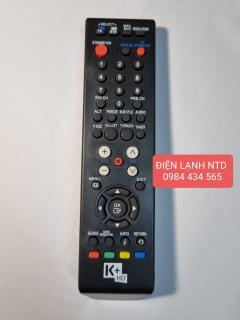 Remote Điều khiển đầu kỹ thuật số K+ mẫu 1, Điều khiên K+, Điều khiển đầu K+ thumbnail