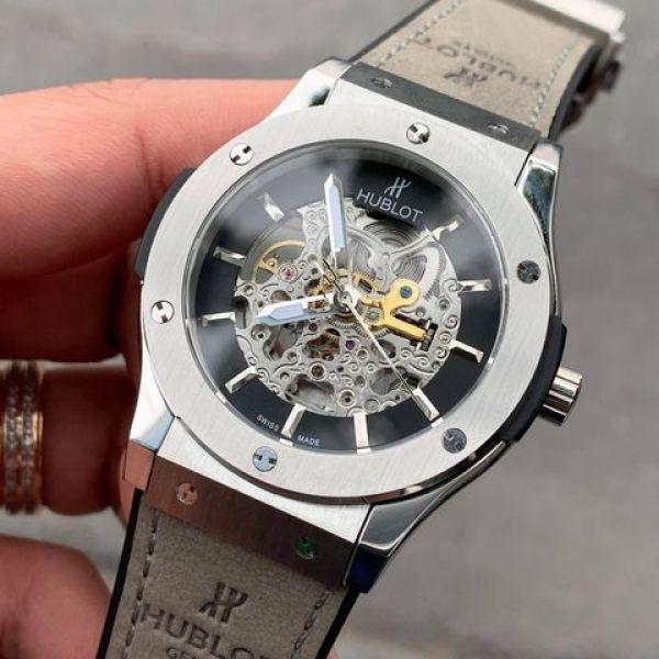 Đồng hồ nam HUBLOT020 LỘ CƠ 2 MẶT , BẢN GIỚI HẠN, sang trọng, mạnh mẽ + Bảo hành 2 năm + Tặng hộp 1 đánh giá bán chạy