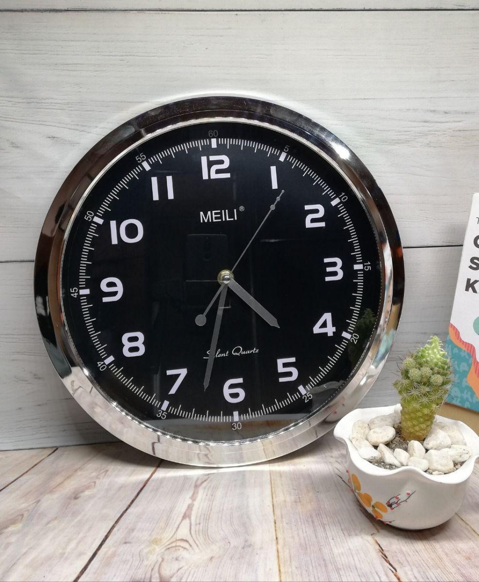 Nơi bán Đồng hồ treo tường tròn kim trôi (loại đen-to 30cm), Giá rẻ hơn Đồng hồ nam dây thép lụa đen DIZIZID, Đồng hồ Nam Nibosi cao cấp, Đồng hồ Nam SESOP RYKER Đính đá sang trọng, Đồng hồ thông minh