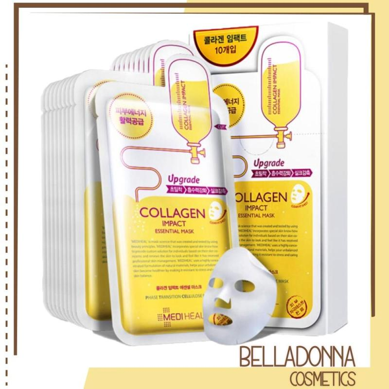 Bộ 10 Gói Mặt Nạ Dưỡng Ẩm Ngăn Ngừa Lão Hóa Da Mediheal Collagen Impact Essential Mask 25ml x10 nhập khẩu