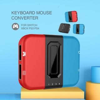 YOU ONE Bộ chuyển đổi bàn phím và chuột chơi game Bộ chuyển đổi USB trò chơi cho PS4 PS3 Xbox One Nintendo Switch Hỗ trợ bàn phím và chuột chơi game không dây có tai nghe thumbnail