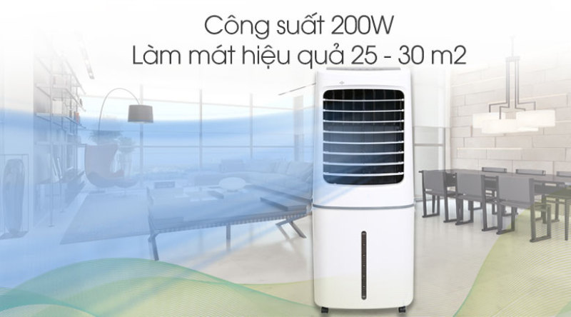 THANH LÝ HÀNG TỒN KHO - Máy làm mát không khí Midea AC200-17JR