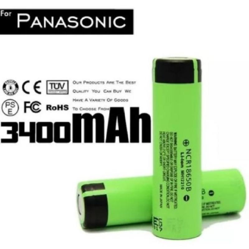 Pin Panasonic 18650 3400mAh mới 100% chính hãng
