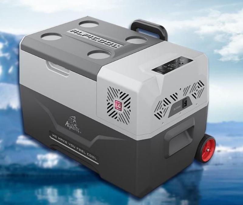 Tủ lạnh mini dùng điện 12v,24 trên ô tô hoặc 220v trong nhà_CX30