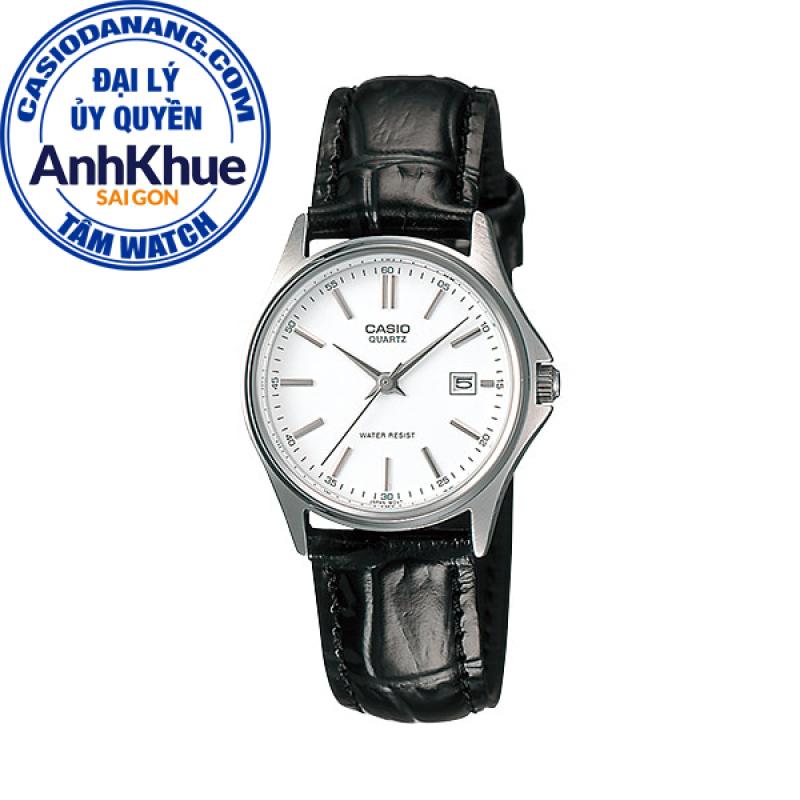 Đồng hồ nữ dây da Casio Standard chính hãng Anh Khuê LTP-1183E-7ADF (28mm)