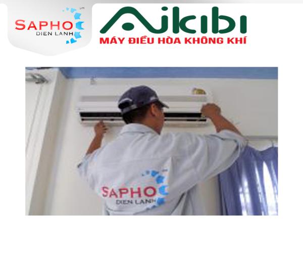 BẢO TRÌ MÁY LẠNH TẠI NHÀ 6 BƯỚC CAC BASIC SERVICE 2021 - TREO TƯỜNG 1HP ĐẾN 2HP - AIKIBI ĐIỆN MÁY SAPHO