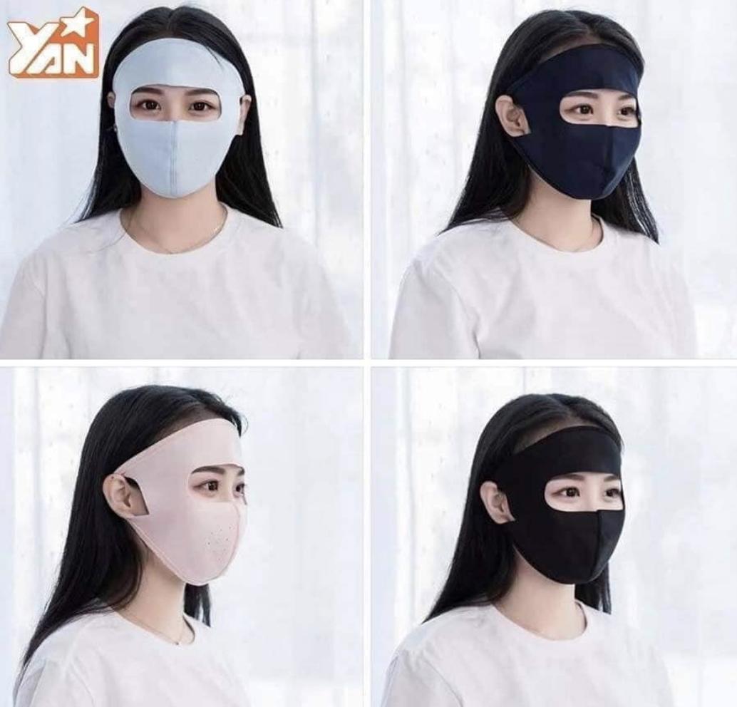 Khẩu Trang Ninja Chống Bụi , Tia Uv Fullface By Laptop Ancom (tp.hcm)