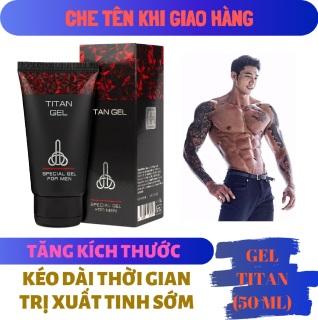 (Lô mới nhất) Titan Gel Nga cao cấp - Gel dành cho nam - hàng chính hãng - tăng kích thước cho cậu bé (Che tên khi giao hàng) thumbnail