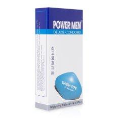 Bao cao su Powermen Viagra siêu mỏng kéo dài 12 bao