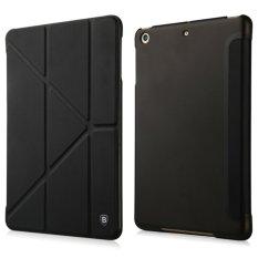 Hình ảnh Bao da iPad Mini 3 - Baseus Pasen (Đen) (da PU cao cấp, smart cover)