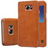 Giá Bán Bao Da Nillkin Qin Series Cho Samsung Galaxy Note 5 N920 Nau Nillkin Nguyên