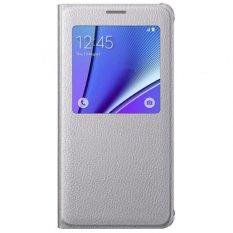 Bán Bao Da S View Danh Cho Samsung Galaxy Note 5 Trắng Samsung Nguyên