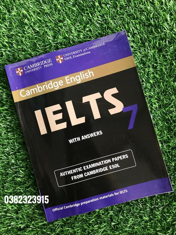 Sách Cambridge English IELTS 7 with answer
