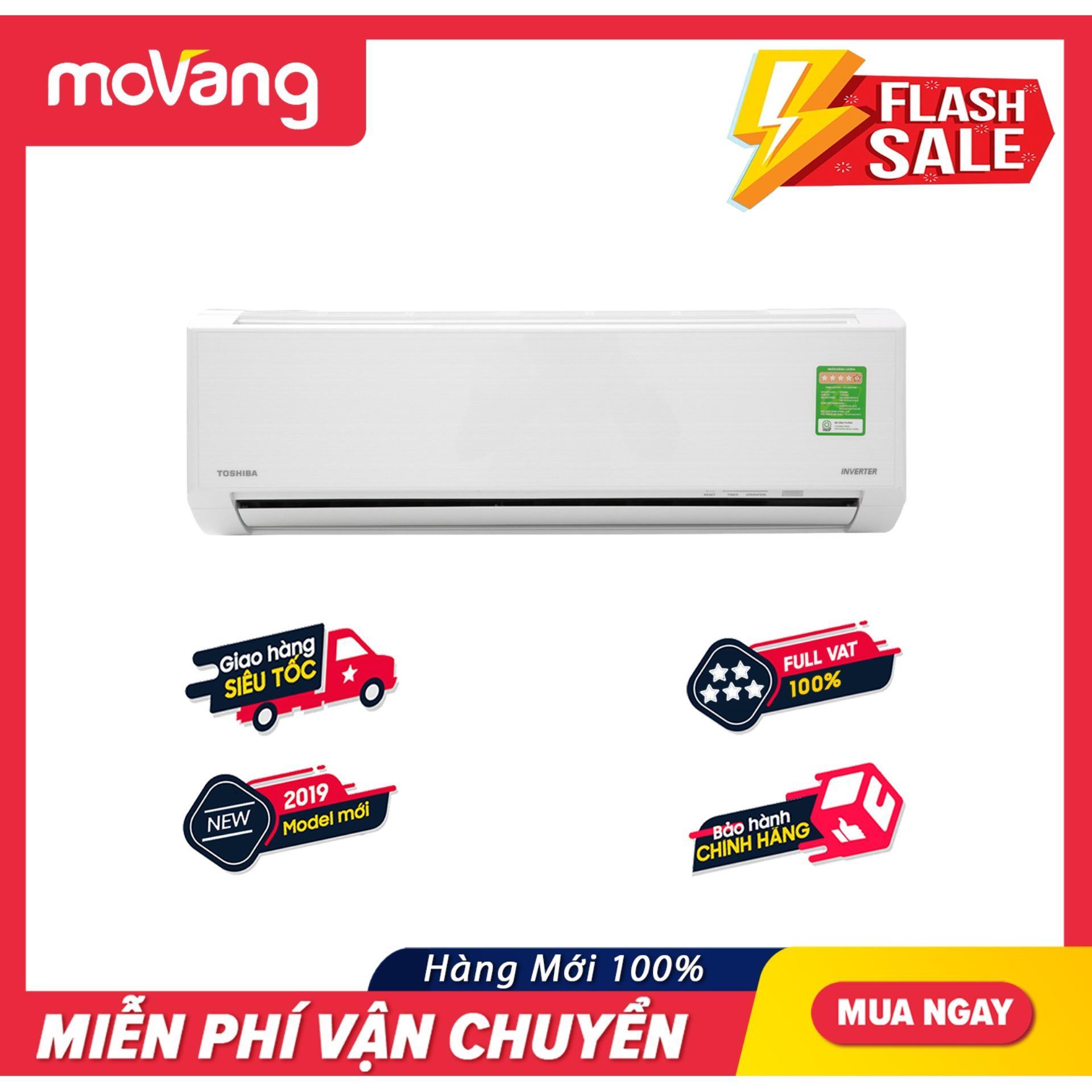 Mã Khuyến Mãi Khi Mua Máy Lạnh Toshiba Inverter 1 HP RAS-H10D1KCVG-V (2019) - Công Suất Tiêu Thụ điện Trung Bình: 0.83 KW/h, Làm Lạnh Nhanh Tức Thì, Tự Khởi động Lại Khi Có điện, Chức Năng Tự Làm Sạch