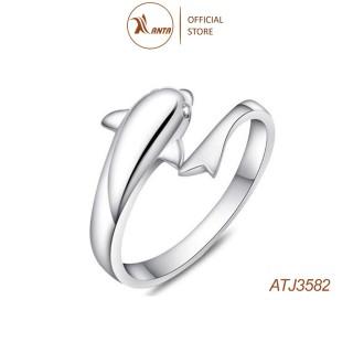Nhẫn hở hình cá heo ngộ nghĩnh đáng yêu ANTA Jewelry - ATJ3582 thumbnail