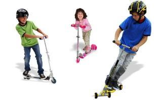 Xe trượt Scooter cho bé trai và gái, Đồ chơi trẻ em thông minh. Xe trượt scooter 3 bánh cho trẻ em có đèn Led kèm chuông. GiẢM tới 50% chỉ HÔM NAY thumbnail