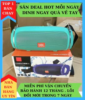 Loa Bluetooth CHARGE 4 + , Có Sạc, Chống Nước IPX7, Âm Bass Cực Chất - Loa bluetooth Chống Va Đập, Có Thể Kết Nối 2 Loa, Bảo Hành 12 Tháng. thumbnail