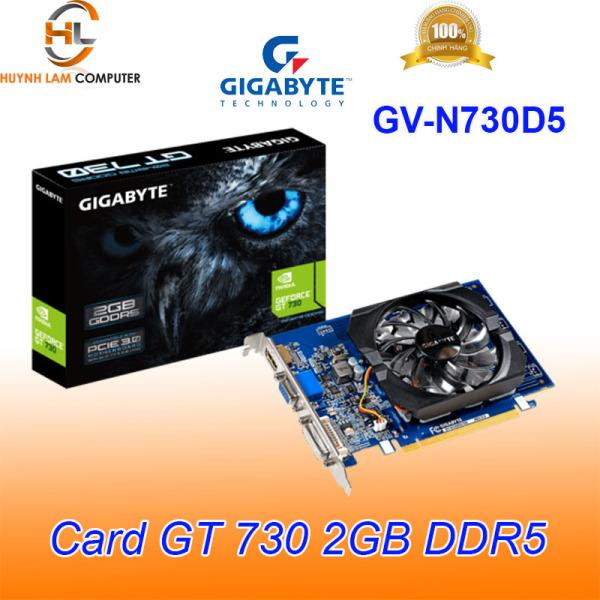 Bảng giá Card màn hình Gigabyte GT 730 2GB DDR5 GN-N730D5 - Viễn Sơn phân phối Phong Vũ