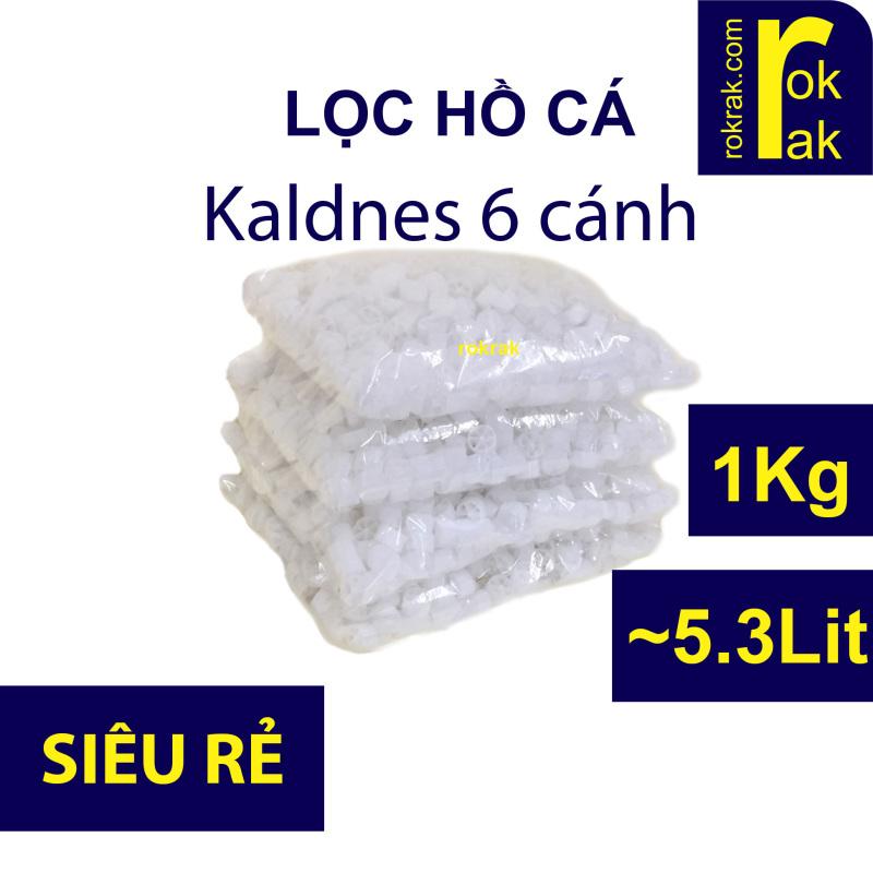 Hạt lọc Kaldnes 6 cánh R153 1Kg cho lọc vi sinh hồ cá Koi