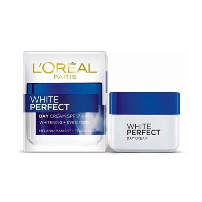 Kem dưỡng ngày trắng da đều màu Loreal White Perfect Day spf 17pa++ - 50ml, cam kết hàng đúng mô tả, chất lượng đảm bảo an toàn đến sức khỏe người sử dụng, đa dạng mẫu mã giá rẻ