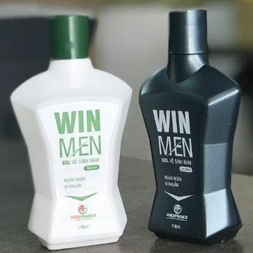 Combo 2 Gel vệ sinh nam Winmen 110ml - Khử mùi, kháng khuẩn, giữ ẩm