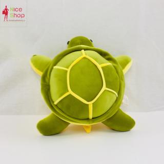 Gấu bông ôm chú rùa chất lụa - OT0710 - NiceShop thumbnail
