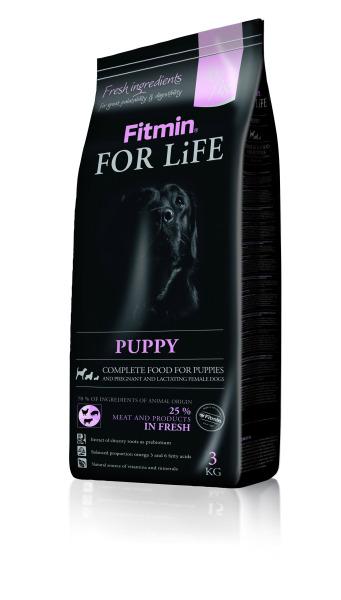 Fitmin Dog For Life Puppy All Breeds 3kg - Thức ăn cho tất cả giống chó con loại 3kg/bao