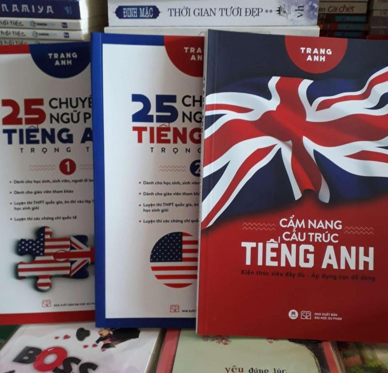 Combo trọn bộ 3 cuốn: 25 chuyên đề ngữ pháp Tiếng Anh tập và2. Cẩm nang cấu trúc Tiếng AnhDachd