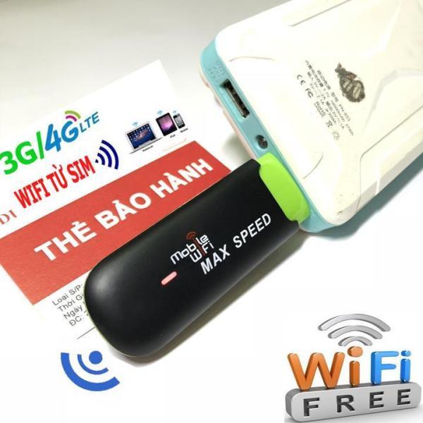Bảng giá DCOM PHÁT SÓNG WIFI BẰNG SIM 3G 4G Phong Vũ