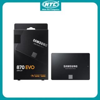 [Nhập ELJUN21 giảm 10% đơn từ 99K max 200K] [Trả góp 0%] Ổ cứng SSD Samsung 870 Evo 250GB 500GB 1TB 2TB 4TB 2.5-Inch SATA III (Đen) - Nhất Tín Computer thumbnail