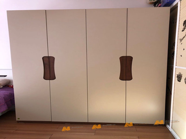 Giá bán Tủ gỗ An Nhiên hiện đại góc cạnh sắc nét phù hợp căn hộ xứng đáng đồng tiền bỏ ra Gỗ MDF loại cao cấp độ dày 17mm chất lượng gỗ vượt trội Mẫu mới hiện đại G383