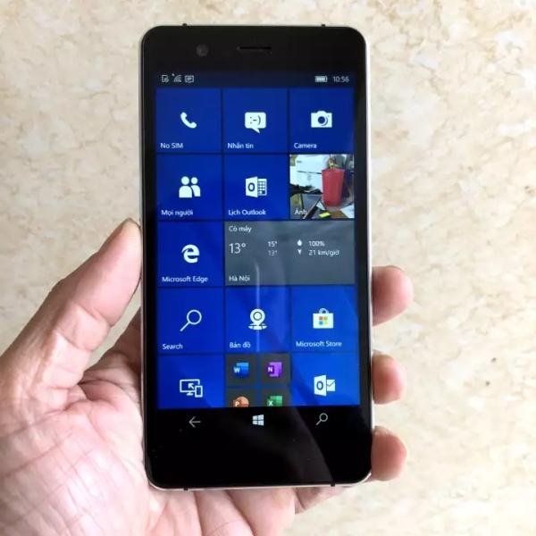 Điện thoại Nhật Softbank 503LV-ram 3Gb+32Gb-windows phone 10