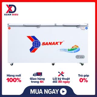 [Trả góp 0%]Tủ đông Sanaky 485 lít VH-6699W1 Phù hợp cho việc kinh doanh quán ăn gia đình Làm đông thực phẩm nhanh chóng Trang bị giỏ đựng đồ và lỗ thoát nước - giao hàng miễn phí HCM thumbnail