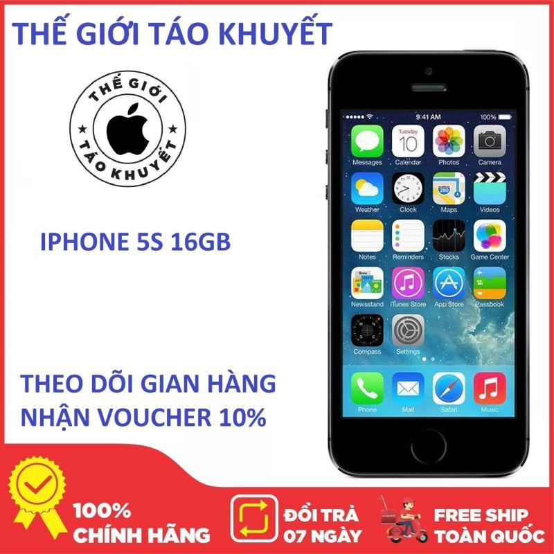 Điện thoại giá rẻ Apple IPHONE 5S - 16GB/32GB - Full phụ kiện (Củ + cáp) - Bảo hành 12 tháng - Thế Giới Táo Khuyết