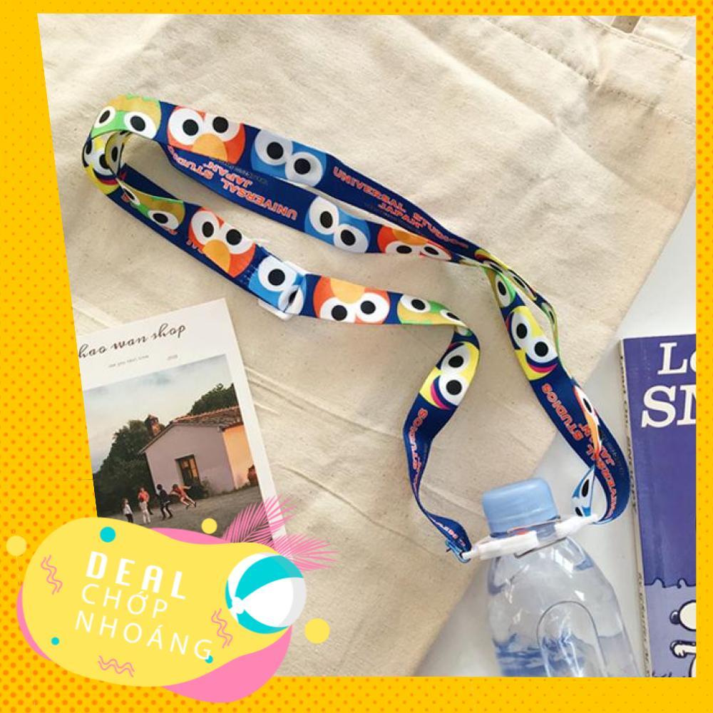 Dây đeo chai nước hoạ tiết dễ thương (giao mẫu ngẫu nhiên) DCN Nhật Bản