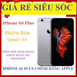 [Trả góp 0%][ SALE - RẺ HỦY DIỆT ] điện thoại Apple Iphone 6S Plus 64G bản Quốc Tế - Bảo hành 12 tháng Màn Hình 5.5 Inch- Full Chức Năng CPU Apple A9 2 nhân - Màn hình LED-backlit IPS LCD 5.5 Retina HD bao đổi 7 thumbnail