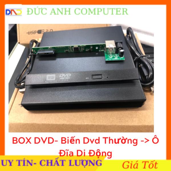 Bảng giá [Nhập NEWSELLERW503 giảm 10% tối đa 100K] Box DVD Đựng Ổ Đĩa DVD Laptop Gắn Ngoài Qua Cổng USB Loai Mỏng 9.5mm / Dày 12.7mm Phong Vũ