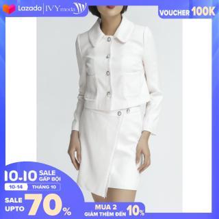 [MUA 2 GIẢM 30K] Áo vest nữ trang trí túi IVY moda MS 67M3845 thumbnail